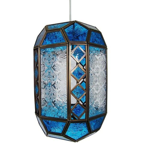 Patterned Glass 1 Light Moroccan Lantern Pendant ($52) ❤ liked on Polyvore featuring home, lighting, ceiling lights, moroccan lanterns, moroccan lamp, moroccan ceiling lights, moroccan hanging lights and glass lighting