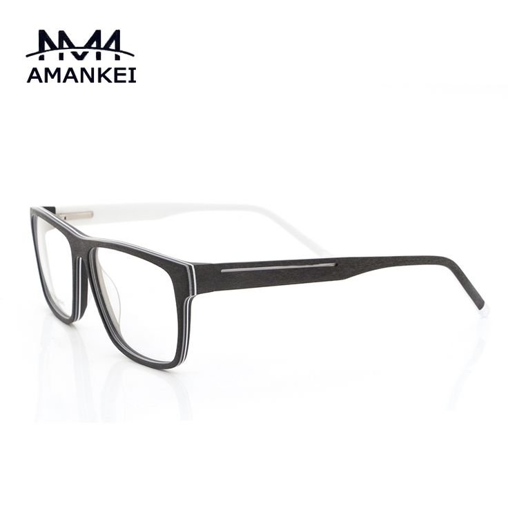 buy acetate vintage eyeglasses frames online unisex imitation wood glasses frame myopia glasses clear lens spectacle