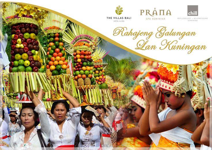 The Villas Bali Hotel and Spa wish all our friends Selamat Hari Raya Galungan and Kuningan.