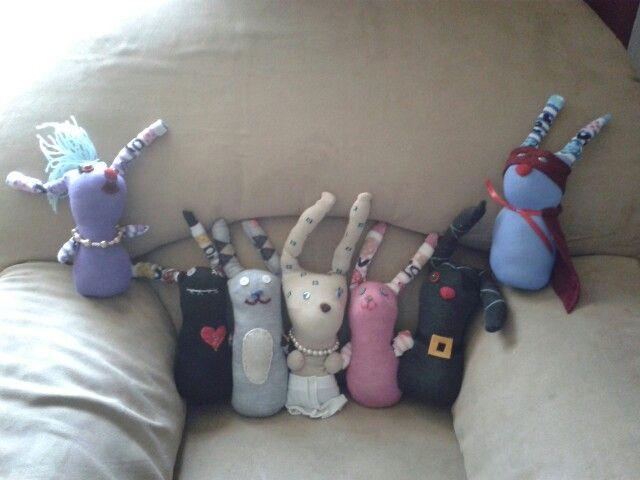 Sock bunny's