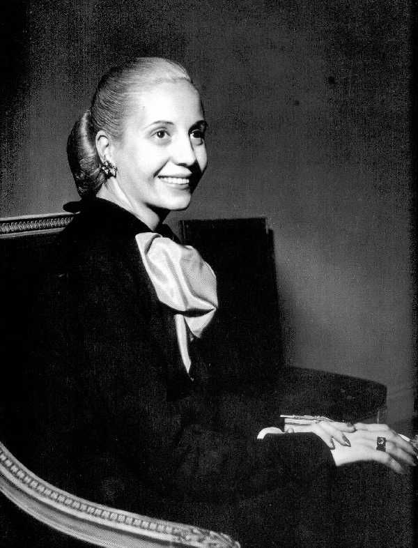 "Eva Duarte Perón...always liked her ""tailored"" look the best..you could sense the power...!"