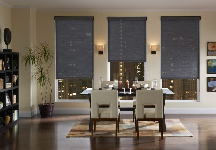 Elegant, beautiful, quiet, easy-to-install, fully-automated QMotion Shades