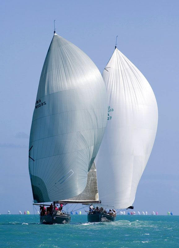 Watching the Int'l Yacht Race Week, Key West, Florida while at #MarriottCourtyardKeyWest #DreamKeyWestVacation