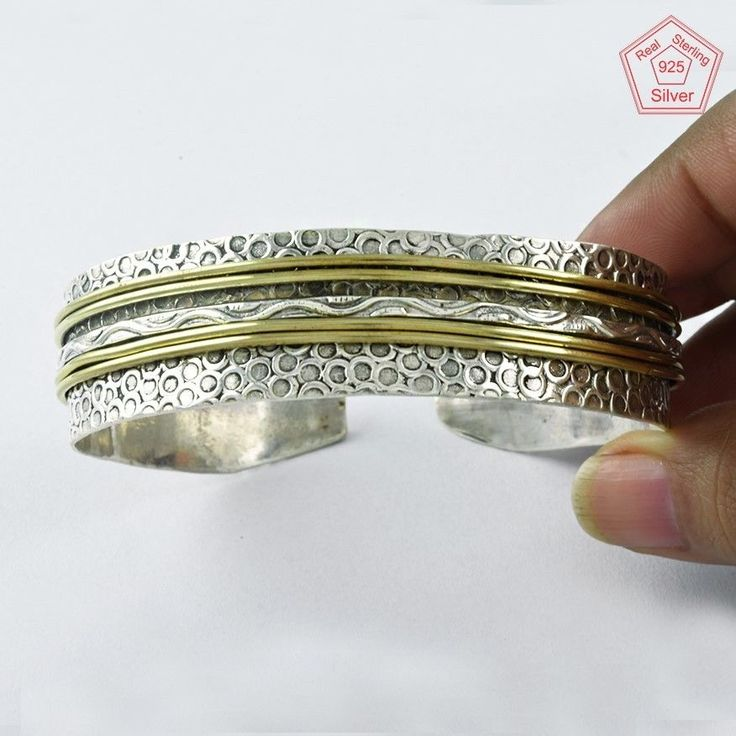 RARE TWO TONE COLLECTION 925 STERLING SILVER BRACELET BR4377 #SilvexImagesIndiaPvtLtd #Chain