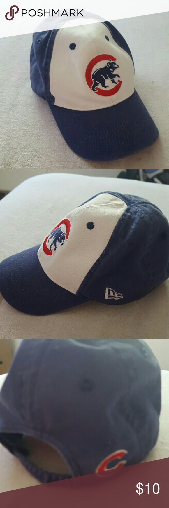 Toddlers Chicago Cubs Hat Toddlers Chicago Cubs Hat Great Condition New Era Accessories Hats