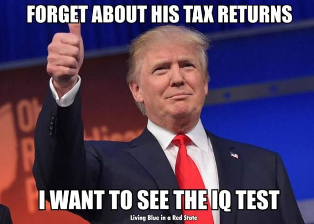 Funny Donald Trump Pictures and Viral Images: Forget About Trump's Tax Returns