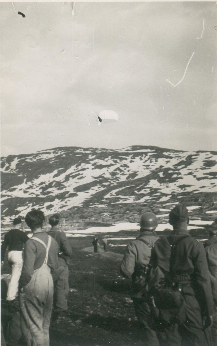 On April 9, 1940, in reaction to the German invasion of Norway, the bomber squadron was ordered to the east, but before they could take off, six German planes attacked. The bombers were damaged, only a few getting airborne to later be abandoned elsewhere and the Norwegian airbase of Sola was seized.