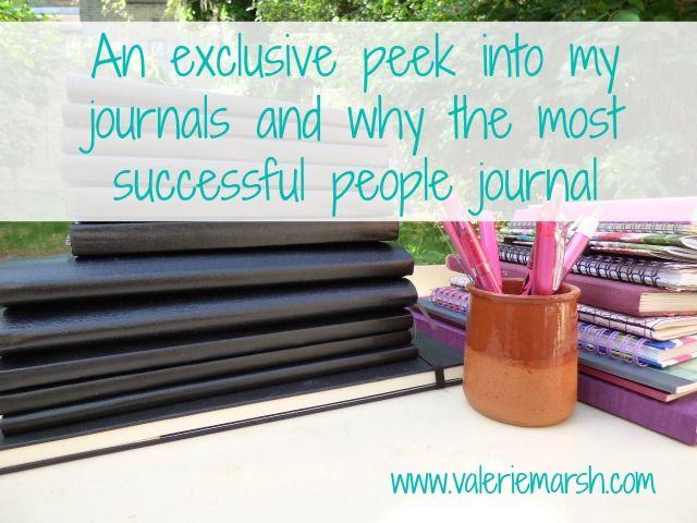 A peek in my journal