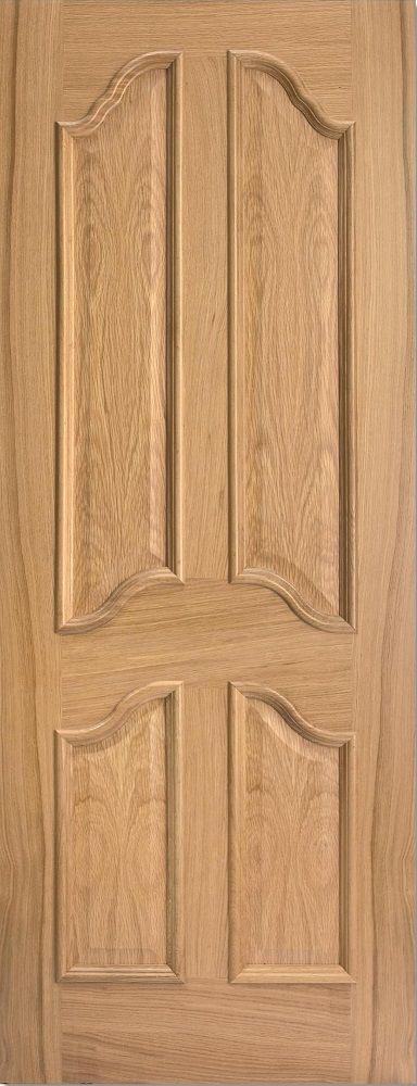 Richelieu 4 Raised Panel Door 78x30 Oak - internal doors - oak - Richelieu 4 Raised Panel Door 78x30 Oak - Timber, Tool and Hardware Merchants established in 1933
