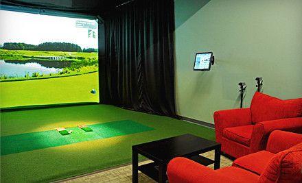 Indoor golf #bucketlist #GOLF #dreams