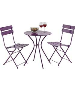 One Or Two Small Round Tables With 2 Chairs Each