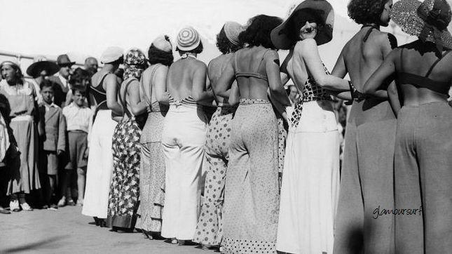 Glamoursplash: The Beach Pyjama of the 1930s