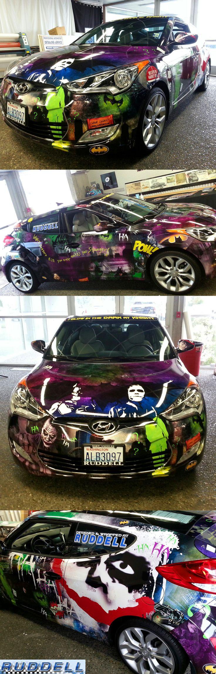 Batman car wrap