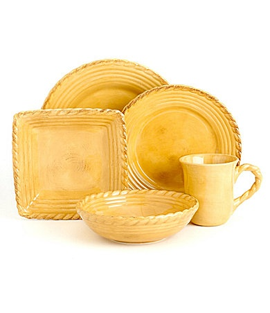 Artimino Tuscan Countryside Yellow Dinnerware | Dillards.com