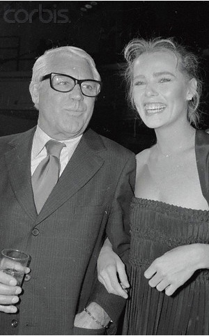 Cary Grant and Margaux Hemingway at Studio 54
