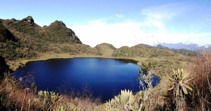 Laguna de Santa Rita - Andes - Tomado de Antioquia de Aventura