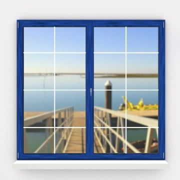 7/12/2015 18 days to Christmas! Do you recognize the view from today's Advent Calendar window? If you said Faro, you're right: http://bit.ly/1TkFpQO. #WindowsOfPortugal #Portugal