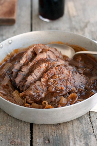 Channukkah Brisket (also good for other Jewish and non Jewish holidays of course!)