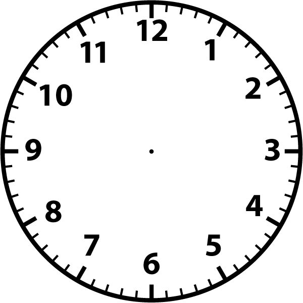Blank clock face https://www.bcpss.org/webapps/cmsmain/webui/institution/CURRICULUM/MATH%20CURRICULUM/1st/Templates/Clock%20Faces?sortDir=ASCENDING&sortCol=Size&subaction=view&action=frameset&uniq=gwrlz5