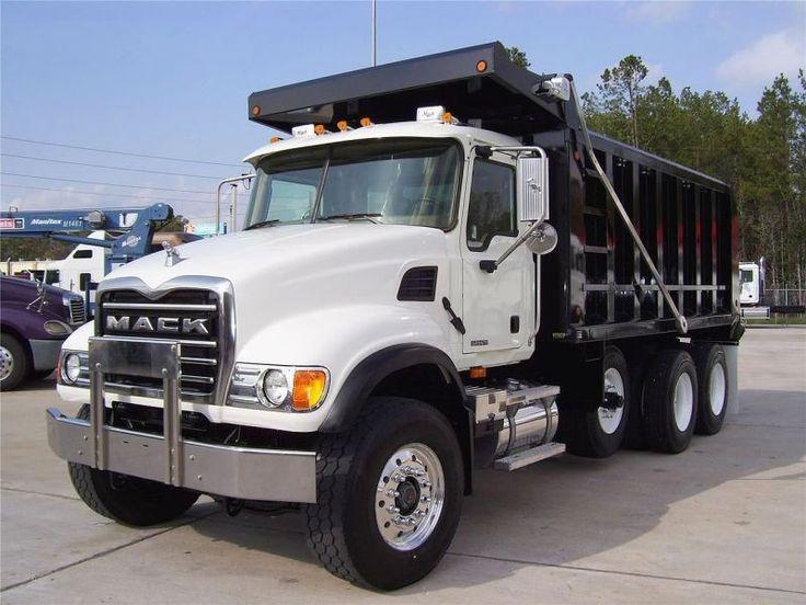 mack trucks | USED 2007 MACK Dump Truck GRANITE CV713 for sale