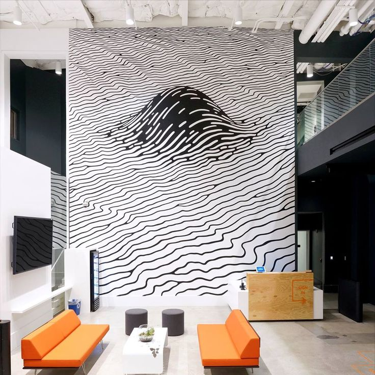 25 best ideas about office mural on pinterest office