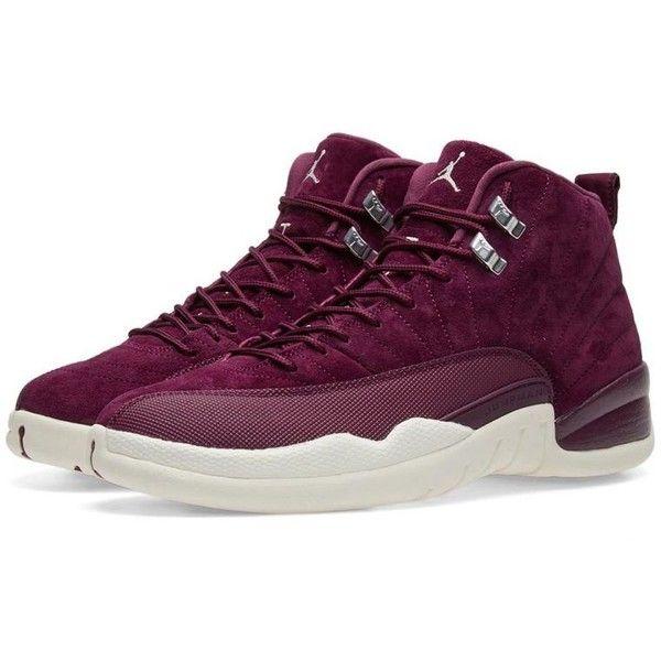 Nike Air Jordan 12 Retro 'Bordeaux Winter' (€175) ❤ liked