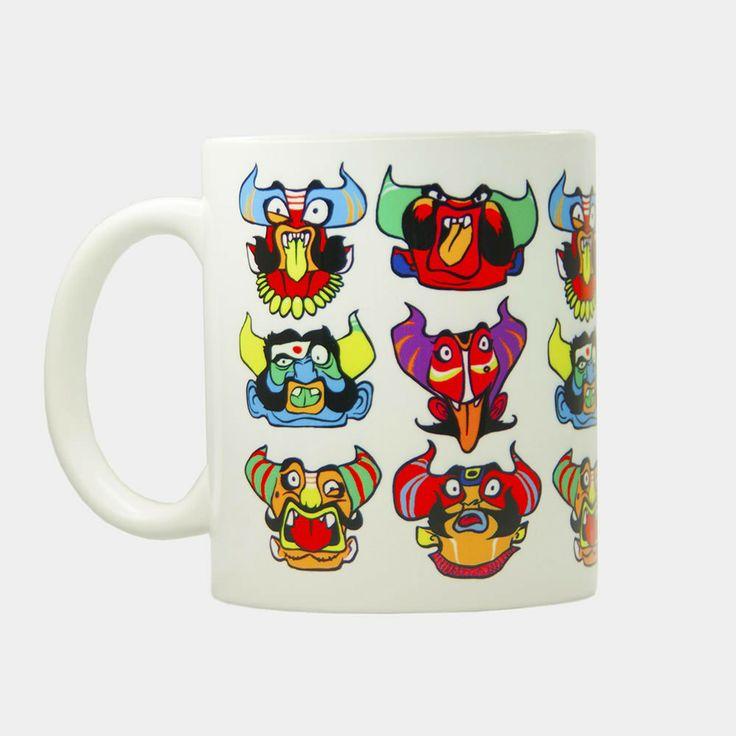 RAKSHASA COFFEE MUG - COFFEE MUGS - HOME & SOUVENIR :: Chumbak