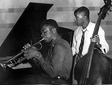 Donald Byrd and Paul Chambers