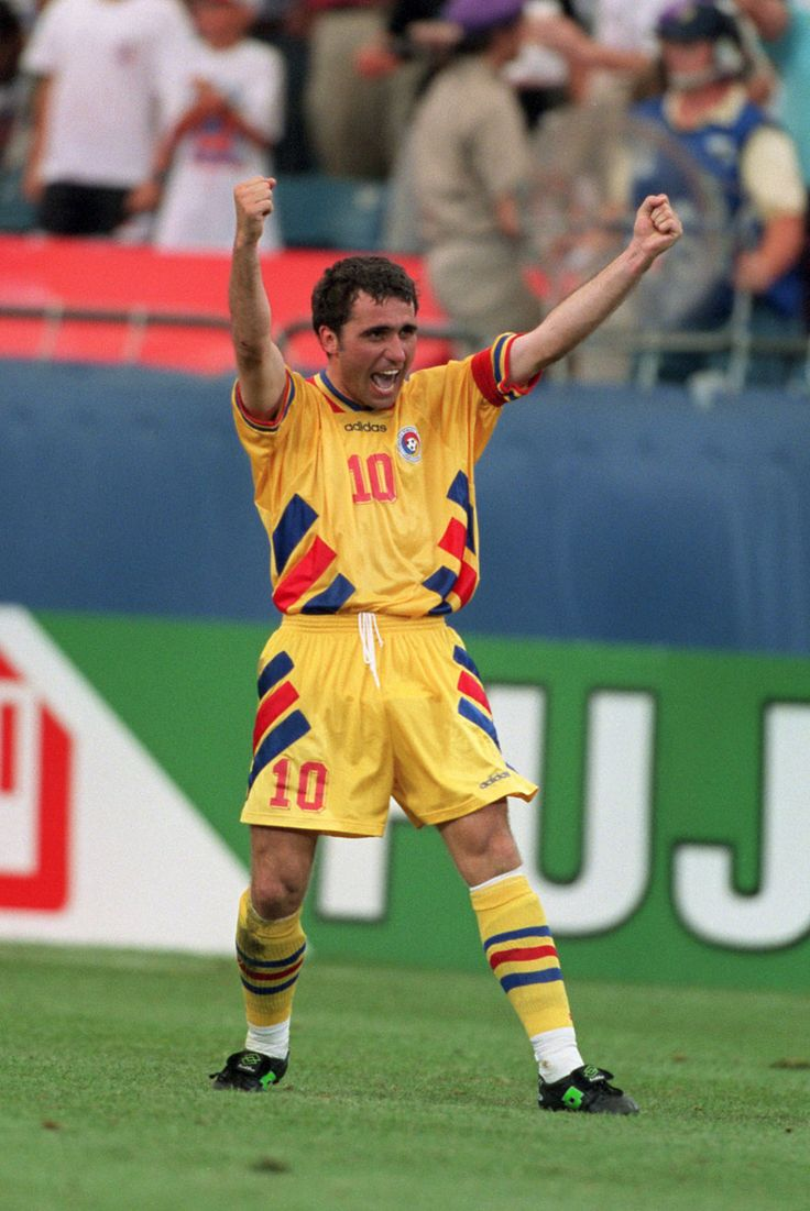 This is a picture of Gheorghe Hagi in his youth. He is considered the best football player of Romania and is renowned of his achievements while in the football team Galatasaray.