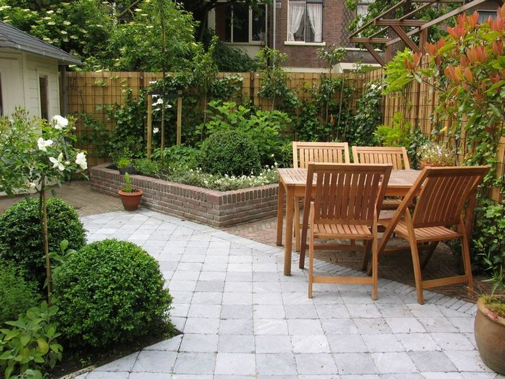 119 best images about tuin on pinterest outdoor tiles gardens and terrace - Tuinontwerp ...