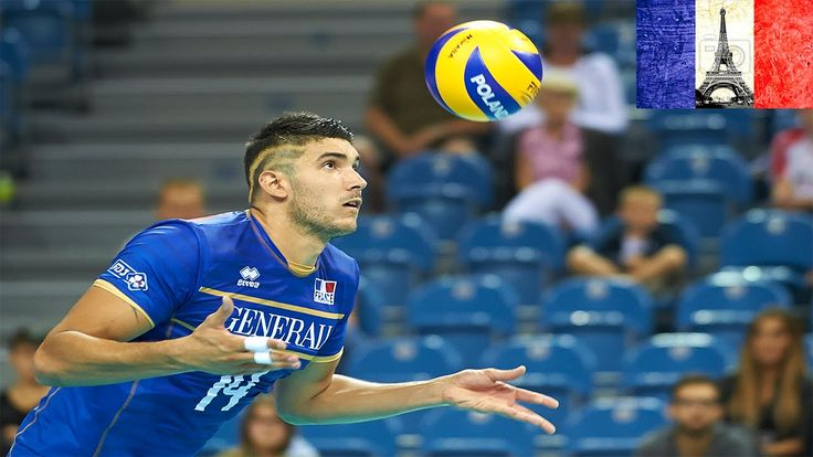 The best volleyball players in the world: Nicolas Le Goff