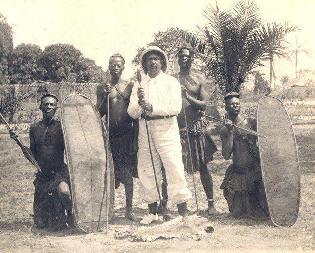Hampton and Stillman alum William Henry Sheppard was one of the earliest African Americans to become a missionary for the Presbyterian Church. He spent 20 years in Africa, primarily in and around the Congo Free State, and is best known for his efforts to publicize the atrocities committed against the Kuba and other Congolese peoples by King Leopold II's Force Publique.