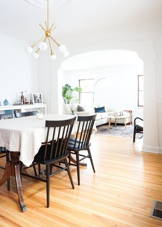 How high should i hang a light above the dining table