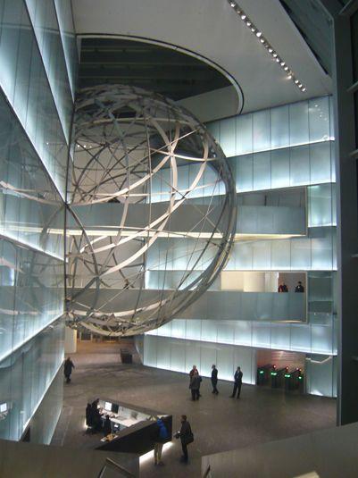 Deutsche Bank Sphere, Frankfurt, Germany by Mario Bellini Architects