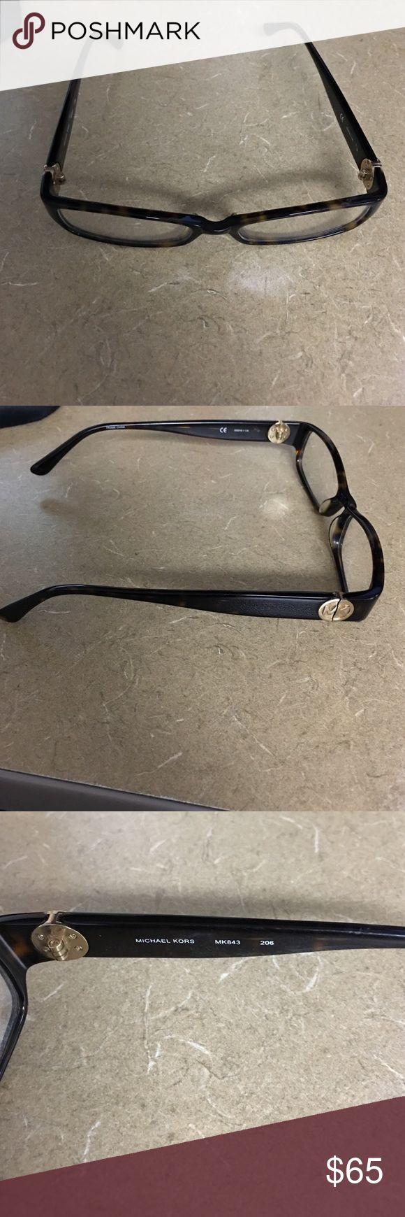 Michael Kors eyeglasses!!! Tortoise color never used frame!! MICHAEL Michael Kors Accessories Glasses