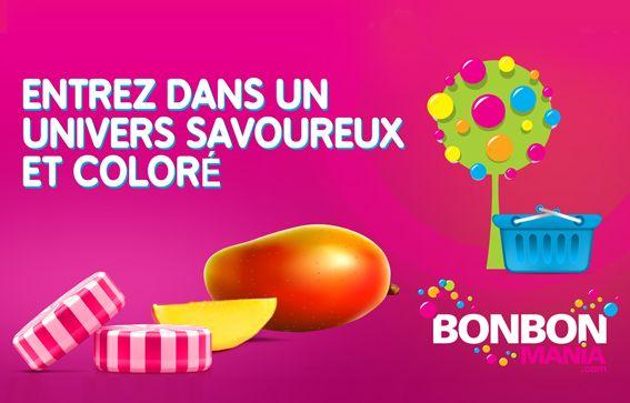 Nos Réalisations: Bonbon mania - Site web