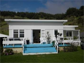Classic NZ beach house.