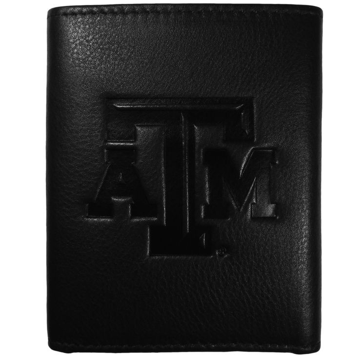 """Checkout our #LicensedGear products FREE SHIPPING + 10% OFF Coupon Code """"Official"""" Texas A & M Aggies Embossed Leather Tri-fold Wallet - Officially licensed College product Features; lots of credit card slots, window ID slot, removable plastic sleeves, large billfold pockets Superior quality makes this wallet a must have men's fashion accessory Genuine fine grain leather and expert craftmanship Deeply embossed Texas A & M Aggies logo on the front of the wallet for the proud fan - Price…"""