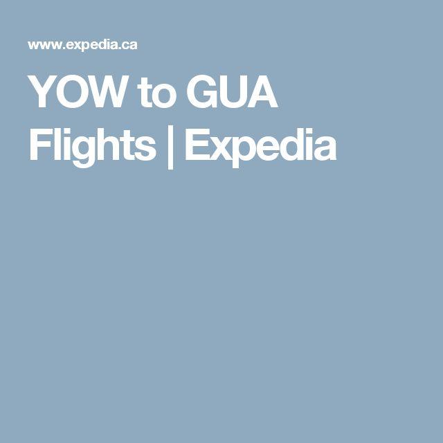 YOW to GUA Flights | Expedia