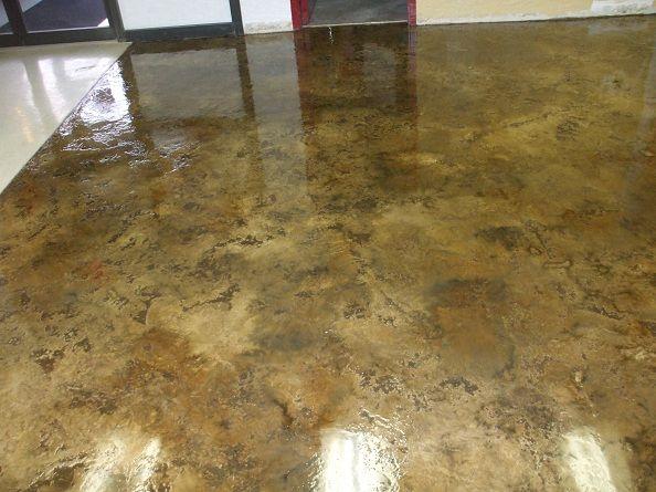 Interior Decorative Concrete : Best images about stained concrete floors on pinterest