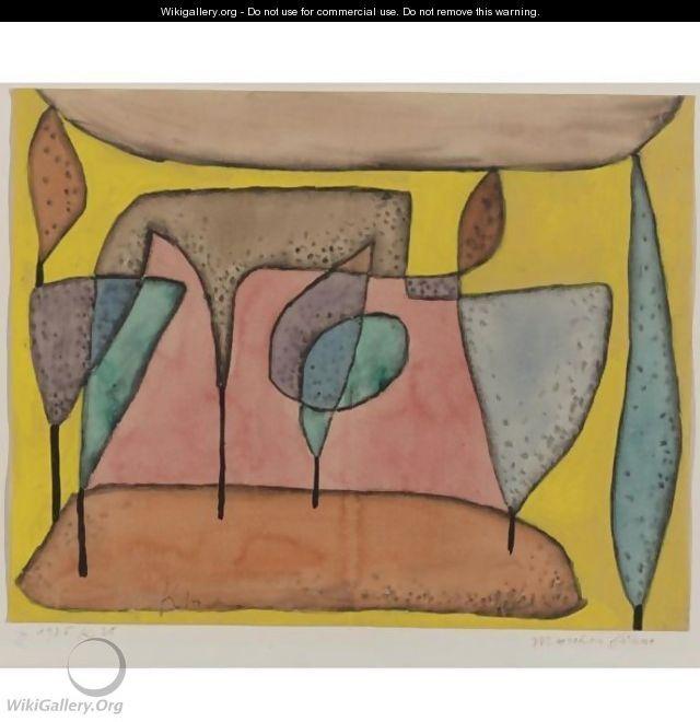 Marchen Baume (Fairy-Tale Trees) - Paul Klee