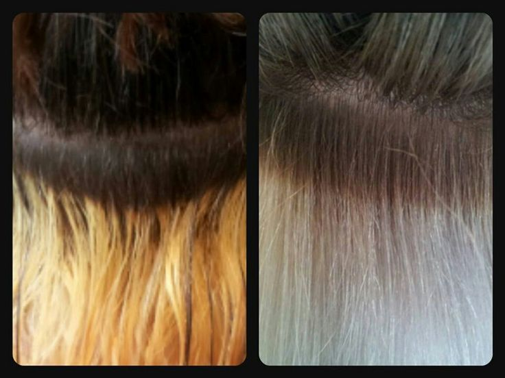 Silver Hair Toner Permanent