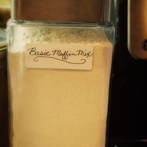 Recipe – Basic Muffin Mix (Has a lot of different muffins that can be made using this basic mix)