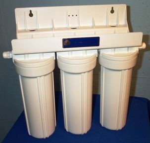 Fluoride water filters - remove fluoride using activated alumina and bone char