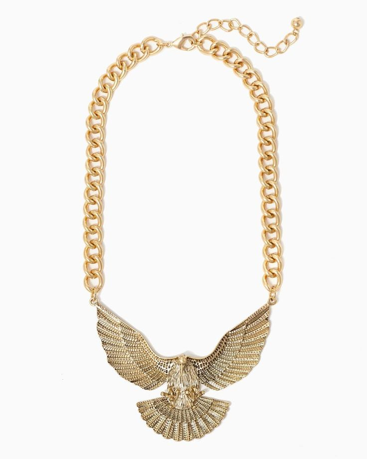 charming charlie | Eagle Wingspan Necklace #charmingcharlie My new favorite accessory