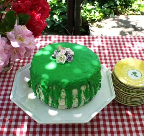 MacArthur Park Cake --  We will always love you Donna Summer.