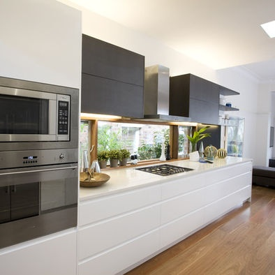 Modern Kitchen Photos Timber Design, Pictures, Remodel, Decor and Ideas - page 20