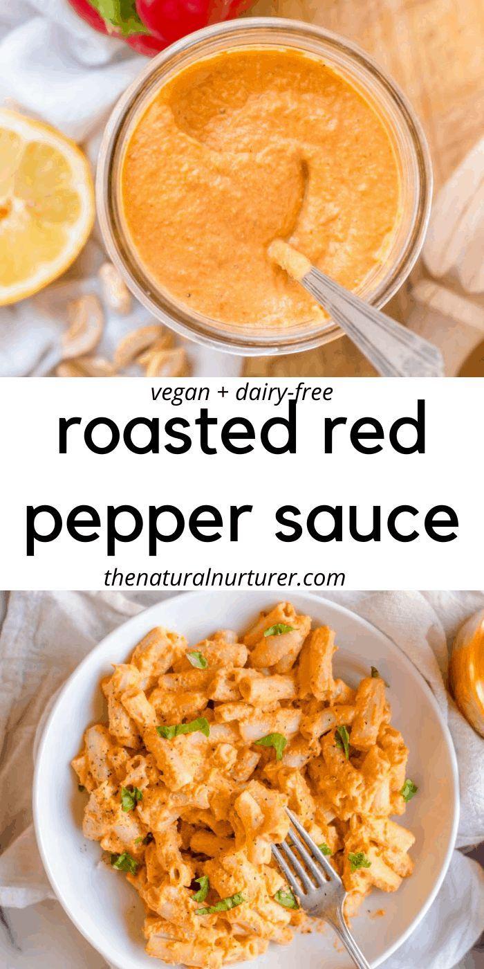 Roasted Red Pepper Sauce Recipe Stuffed Peppers Food Processor Recipes Red Pepper Sauce [ 1400 x 700 Pixel ]