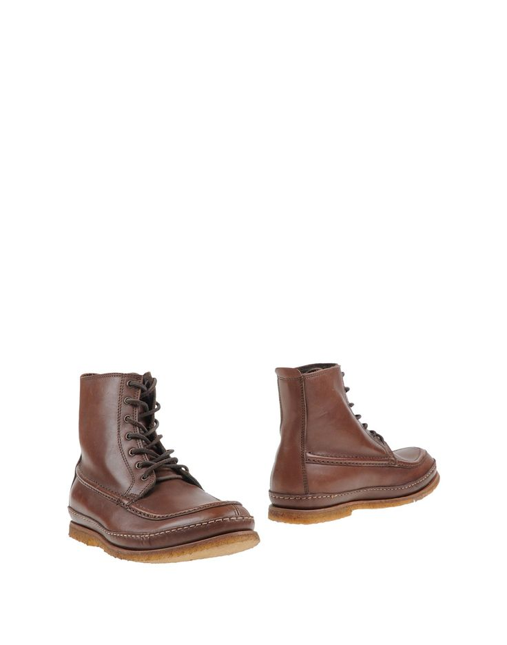 $154 Punto Pigro | Brown Ankle Boots for Men | Lyst