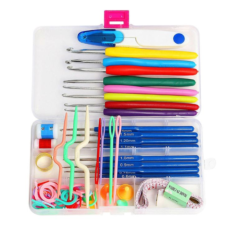 ASLT Hot Sale16 sizes Crochet hooks Needles Stitches knitting Craft Case crochet set  Free Shipping #>=#>=#>=#>=#> Click on the pin to check out discount price, color, size, shipping, etc. Save and like it!